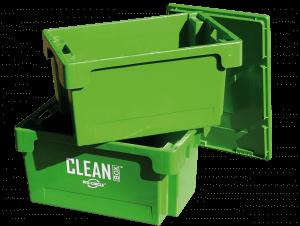 CLEAN BOX cu capac şi coş de imsersie